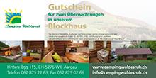 Gutschein Blockhaus